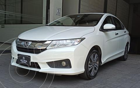 Honda City EX 1.5L usado (2017) color Blanco precio $209,000