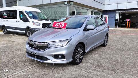 Honda City EX 1.5L Aut usado (2019) color Plata precio $260,000