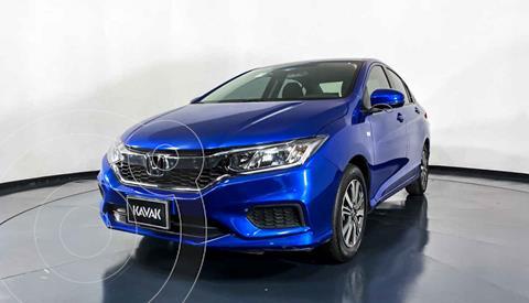 Honda City EX 1.5L Aut usado (2019) color Azul precio $217,999