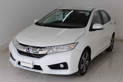 Honda City EX 1.5L Aut usado (2019) color Blanco precio $229,000