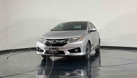 Honda City EX 1.5L Aut usado (2016) color Plata precio $208,999