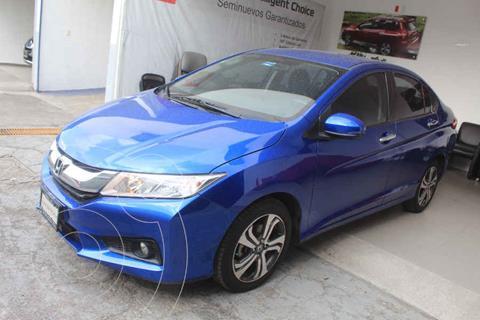 Honda City EX 1.5L Aut usado (2017) color Azul precio $229,000