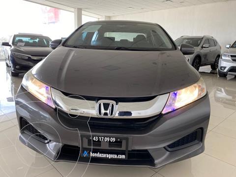 Honda City LX 1.5L usado (2016) color Gris precio $172,451