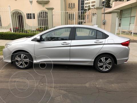 Honda City EX 1.5L Aut usado (2014) color Plata precio $150,000