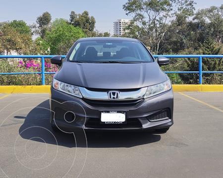 Honda City LX 1.5L usado (2017) color Gris precio $194,000