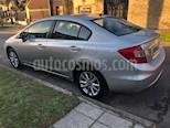 Foto venta Auto usado Honda Civic 1.8 LXS Aut (2013) color Gris precio $450.000