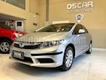 Foto venta Auto usado Honda Civic 1.8 LXS (2013) color Plata Alabastro precio $449.000