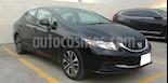 Foto venta Auto usado Honda Civic 4p EX-L Sedan L4/1.8 Aut Navi (2013) color Negro precio $197,000