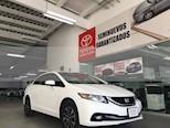 Foto venta Auto usado Honda Civic 4p EX Sedan L4/1.8 Aut (2015) color Blanco precio $215,000