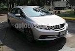 Foto venta Auto usado Honda Civic 4p EX Sedan L4/1.8 Aut (2015) color Plata precio $225,000