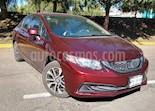Foto venta Auto Seminuevo Honda Civic 4p EX Sedan L4/1.8 Aut (2013) color Rojo precio $185,000
