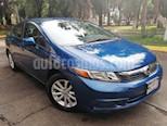 Foto venta Auto usado Honda Civic 4p EX Sedan L4/1.8 Aut (2012) color Azul precio $158,000