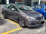 Foto venta Auto usado Honda Civic 4p EX Sedan L4/1.8 Aut (2013) color Gris precio $184,000