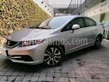 Foto venta Auto usado Honda Civic 4p EX Sedan L4/1.8 Aut (2013) color Plata precio $175,000