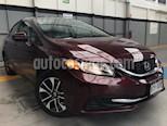 Foto venta Auto usado Honda Civic 4p EXL Sedan L4/1.8 Aut Navi (2015) color Rojo precio $229,000