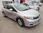 Foto venta Auto usado Honda Civic 4p LX Sedan 5 Vel (2012) color Plata precio $159,000