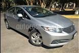 Foto venta Auto usado Honda Civic 4p LX Sedan L4/1.8 Aut color Plata precio $175,000
