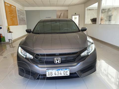 Honda Civic 2.0 EXL Aut usado (2017) color Gris Oscuro precio $2.500.000
