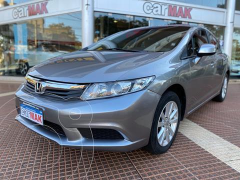 Honda Civic 1.8 LXS usado (2015) color Gris financiado en cuotas(anticipo $990.000)