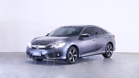 Honda Civic 2.0 EXL Aut usado (2017) color Plata Lunar precio $3.120.000