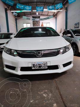 Honda Civic 1.8 LXS usado (2012) color Blanco Tafetta precio $1.150.000