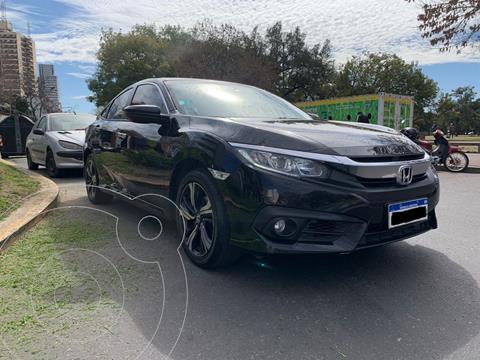 Honda Civic Ex-l usado (2017) color Negro precio $3.199.000