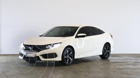 Honda Civic 2.0 EX Aut usado (2017) color Blanco Diamante precio $3.160.000