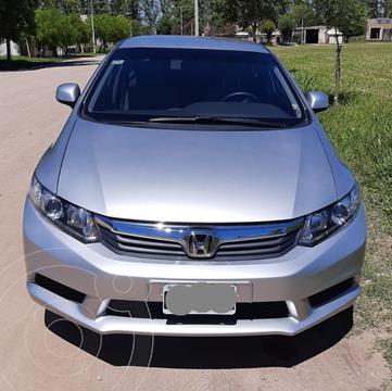 Honda Civic 1.8 LX usado (2013) color Gris Claro precio $1.250.000