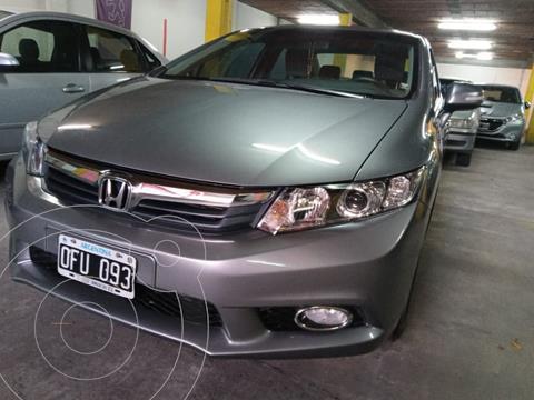 Honda Civic 1.8 EXS Aut usado (2014) color Gris precio $1.590.000