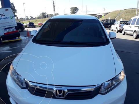 Honda Civic 1.8 LXS Aut usado (2014) color Blanco precio $1.250.000