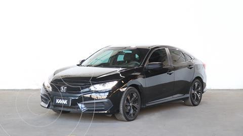 Honda Civic 2.0 EX Aut usado (2017) color Negro Cristal precio $2.850.000