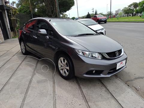Honda Civic 1.8 EXS Aut usado (2016) color Gris precio $2.400.000