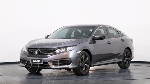 Honda Civic 2.0 EX Aut usado (2017) color Plata Lunar precio $3.100.000