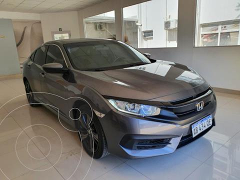 Honda Civic 2.0 EXL Aut usado (2017) color Gris Oscuro precio $2.900.000
