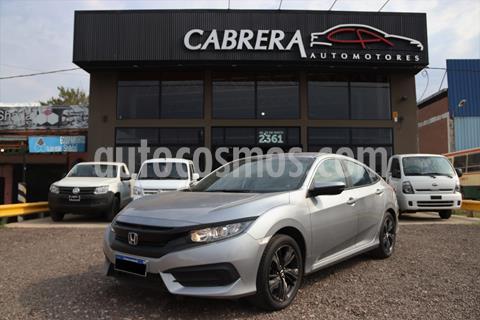 Honda Civic Ex usado (2017) color Gris precio $3.100.000