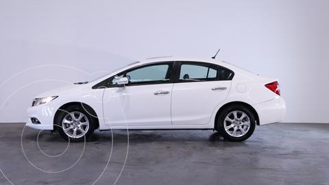 Honda Civic 1.8 EXS usado (2013) color Blanco Tafetta precio $1.500.000