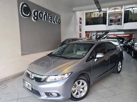 Honda Civic 1.8 EXS MT Sedan (140cv) (L12) usado (2013) color Gris precio $1.750.000