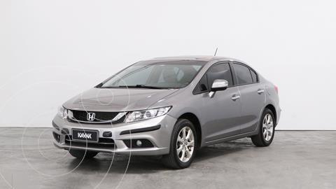 Honda Civic 1.8 EXS Aut usado (2016) color Plata Tormenta precio $2.180.000