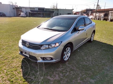 Honda Civic 1.8 EXS usado (2015) color Plata precio $1.400.000