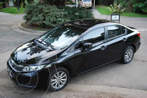 Honda Civic 1.8 LXS Aut usado (2013) color Negro precio $1.300.000