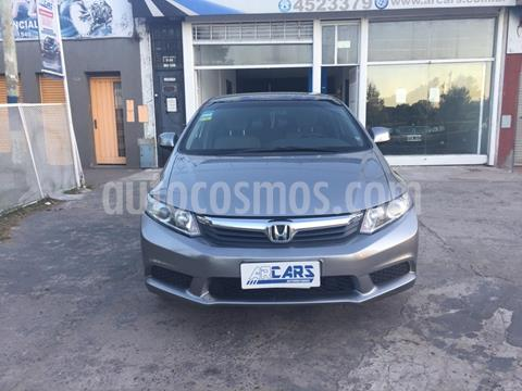 Honda Civic 1.8 LXS Aut usado (2012) color Gris precio $1.180.000