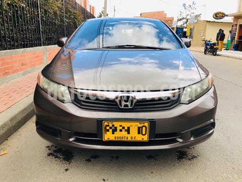 Honda Civic EX L SR 1.8L Aut usado (2012) color Bronce precio $40.000.000
