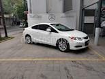 Foto venta Auto usado Honda Civic Coupe EX 1.8L Aut (2012) color Blanco precio $159,850
