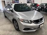 Foto venta Auto usado Honda Civic EX 1.7L (2013) color Gris precio $179,000