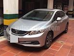 Honda Civic EX 1.8L Aut usado (2013) color Plata precio $30.000.000