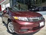 Foto venta Auto usado Honda Civic EX 1.8L Aut (2012) color Vino Tinto precio $155,000