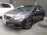 Foto venta Auto usado Honda Civic EX 1.8L Aut (2014) color Gris precio $180,000