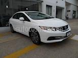 Foto venta Auto usado Honda Civic EX 1.8L Aut (2013) color Blanco precio $178,000