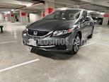 Foto venta Auto usado Honda Civic EX 1.8L Aut color Gris precio $175,000