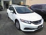 Foto venta Auto usado Honda Civic EX 1.8L (2014) color Blanco precio $175,000